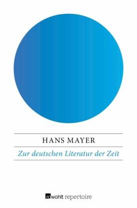 Zur deutschen Literatur der Zeit