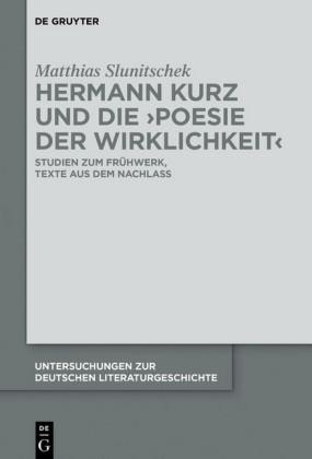 Hermann Kurz und die 'Poesie der Wirklichkeit'