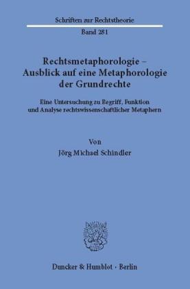 Rechtsmetaphorologie - Ausblick auf eine Metaphorologie der Grundrechte.