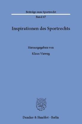 Inspirationen des Sportrechts.