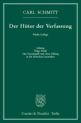 Der Hüter der Verfassung.