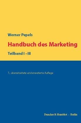 Handbuch des Marketing.