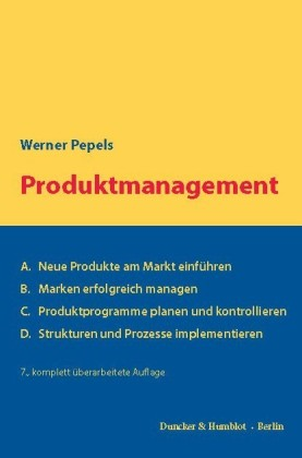 Produktmanagement.
