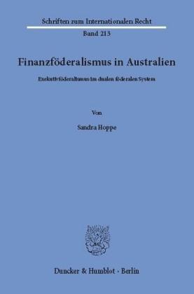 Finanzföderalismus in Australien.