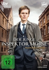 Der junge Inspektor Morse, 3 DVD Cover