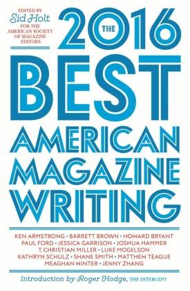 Best American Magazine Writing 2016