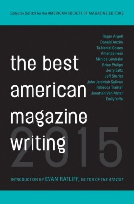 Best American Magazine Writing 2015
