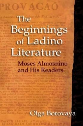 Beginnings of Ladino Literature