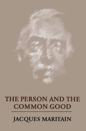 Person and the Common Good