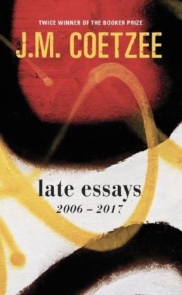 Late Essays