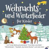 Weihnachts- und Winterlieder für Kinder, 1 Audio-CD Cover