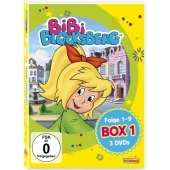 Bibi Blocksberg, 3 DVDs Cover