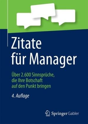 Zitate für Manager