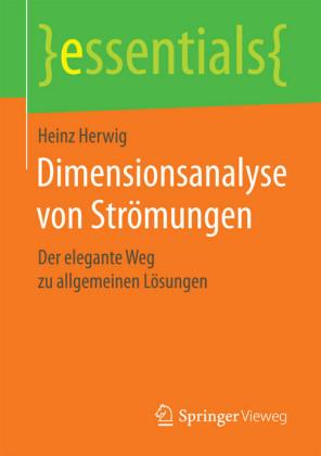 Dimensionsanalyse von Strömungen