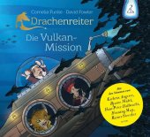 Drachenreiter - Die Vulkan-Mission, 2 Audio-CDs Cover