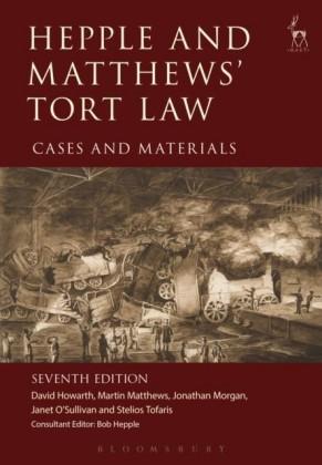 Hepple and Matthews' Tort Law