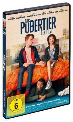 Das Pubertier - Der Film, 1 DVD