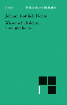Wissenschaftslehre / nova methodo