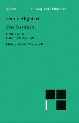 Philosophische Werke. Band 4. Das Gastmahl III