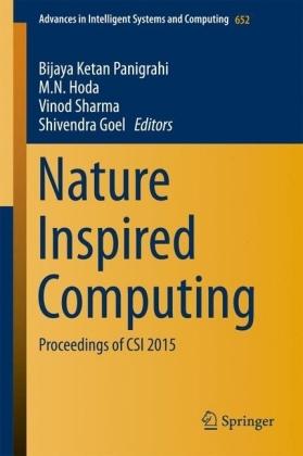 Nature Inspired Computing
