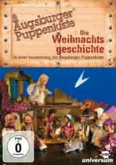 Augsburger Puppenkiste: Die Weihnachtsgeschichte DVD, 1 DVD Cover