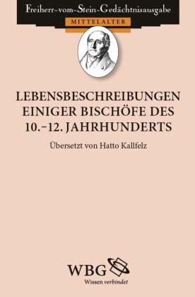 Lebensbeschreibungen einiger Bischöfe des 10.-12. Jahrhunderts