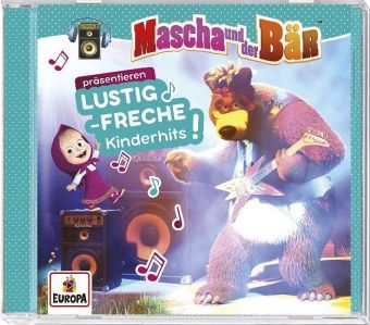 Mascha & der Bär präsentieren lustig-freche Kinderhits, 1 Audio-CD