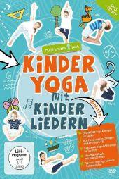 Kinderyoga mit Kinderliedern, 1 DVD + 1 Audio-CD Cover