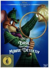 Basil, der große Mäusedetektiv, 1 DVD Cover