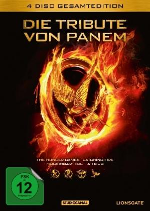 Die Tribute von Panem, 4 DVDs (Gesamtedition)