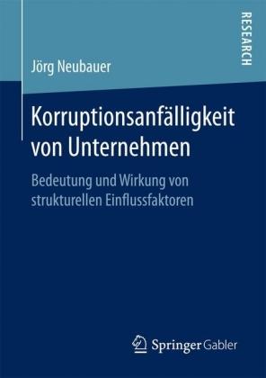 Korruptionsanfälligkeit von Unternehmen