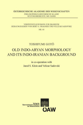 Old Indo-aryan Morphology and its Indo-iranian Background