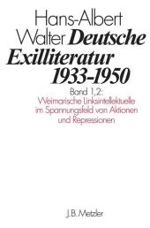 Deutsche Exilliteratur 1933-1950