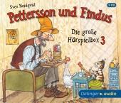 Pettersson und Findus - Die große Hörspielbox, 3 Audio-CDs Cover
