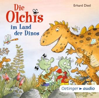 Die Olchis im Land der Dinos, 1 Audio-CD