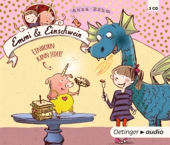 Emmi & Einschwein - Einhorn kann jeder!, 3 Audio-CDs