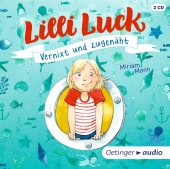 Lilli Luck Vernixt und zugenäht, 3 Audio-CDs Cover