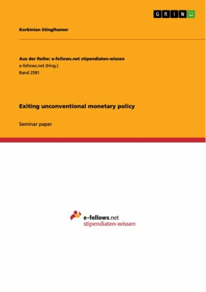 Exiting unconventional monetary policy
