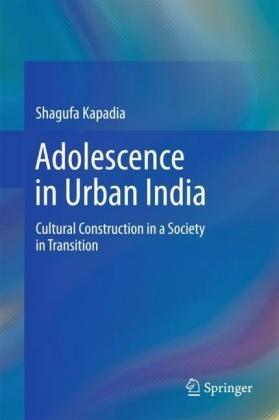 Adolescence in Urban India
