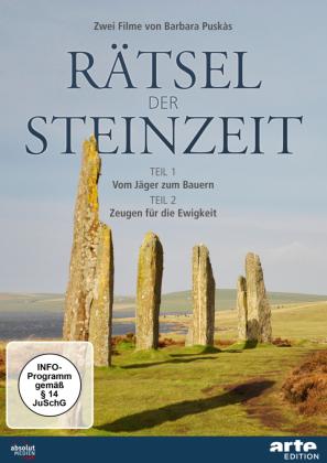 Rätsel der Steinzeit, 1 DVD