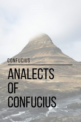 Analects of Confucius