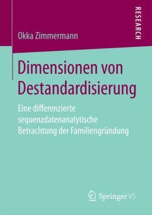 Dimensionen von Destandardisierung