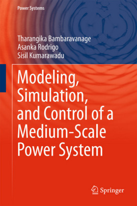 Modeling, Simulation, and Control of a Medium-Scale Power System