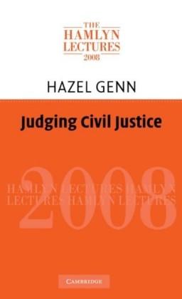 Judging Civil Justice