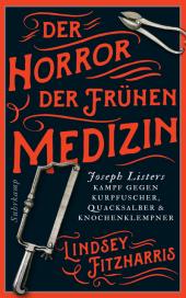 Der Horror der frühen Medizin Cover
