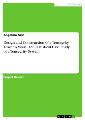Design and Construction of a Tensegrity Tower. A Visual and Statistical Case Study of a Tensegrity System