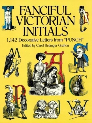 Fanciful Victorian Initials