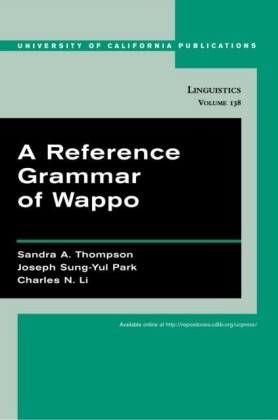 Reference Grammar of Wappo