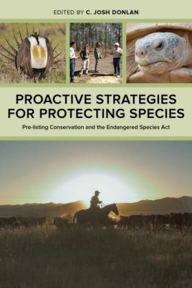 Proactive Strategies for Protecting Species