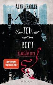 Flavia de Luce - Der Tod sitzt mit im Boot Cover